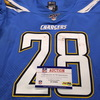 International Series - Chargers Brandon Facyson Game Used Jersey (11/18/19) Size 40