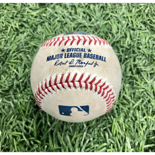 Photo of Game Used Baseball: Ji-Man Choi HOME RUN off Tyler Glasnow - Intrasquad Game - July 21, 2020
