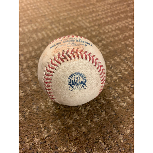 Photo of Kenta Maeda Near No-No Game-Used Baseball