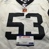 London Games - Bengals Billy Price Game Used Jersey (10/27/2019) Size 48