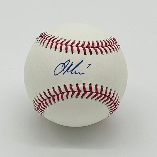 Photo of Minnesota Twins Autographed Baseball - Joe Mauer