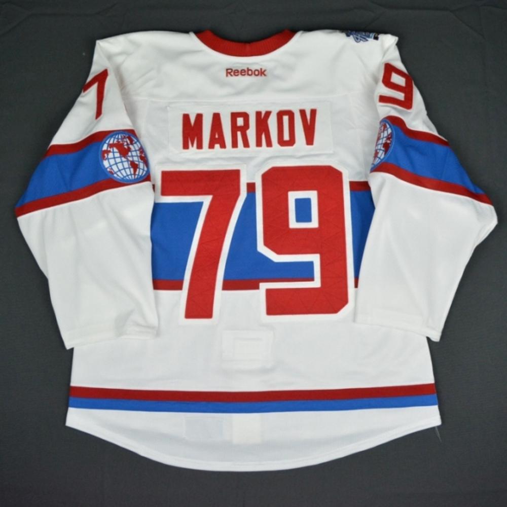 sale retailer 01324 26875 Andrei Markov - Montreal Canadiens - 2016 NHL Winter Classic ...