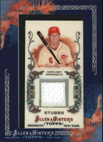 Photo of 2011 Topps Allen and Ginter Relics #DS2 Drew Stubbs Jsy
