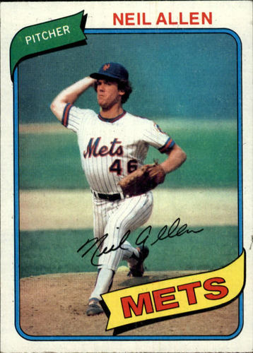 Photo of 1980 Topps #94 Neil Allen RC