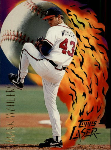Photo of 1996 Topps Laser #64 Mark Wohlers