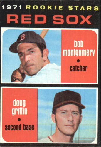 Photo of 1971 Topps #176 Rookie Stars/Bob Montgomery RC/Doug Griffin RC