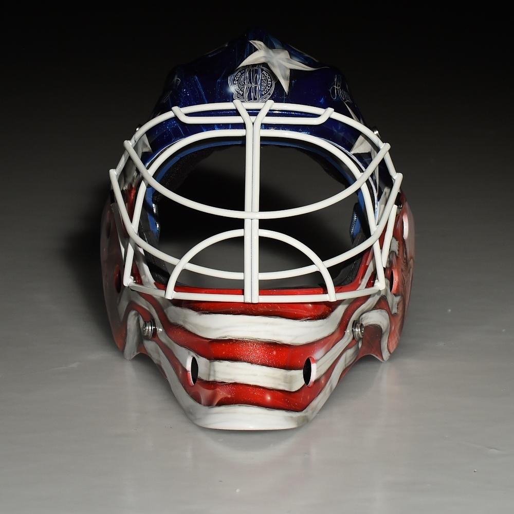 Custom Painted 2016 World Cup Of Hockey Goalie Mask Team