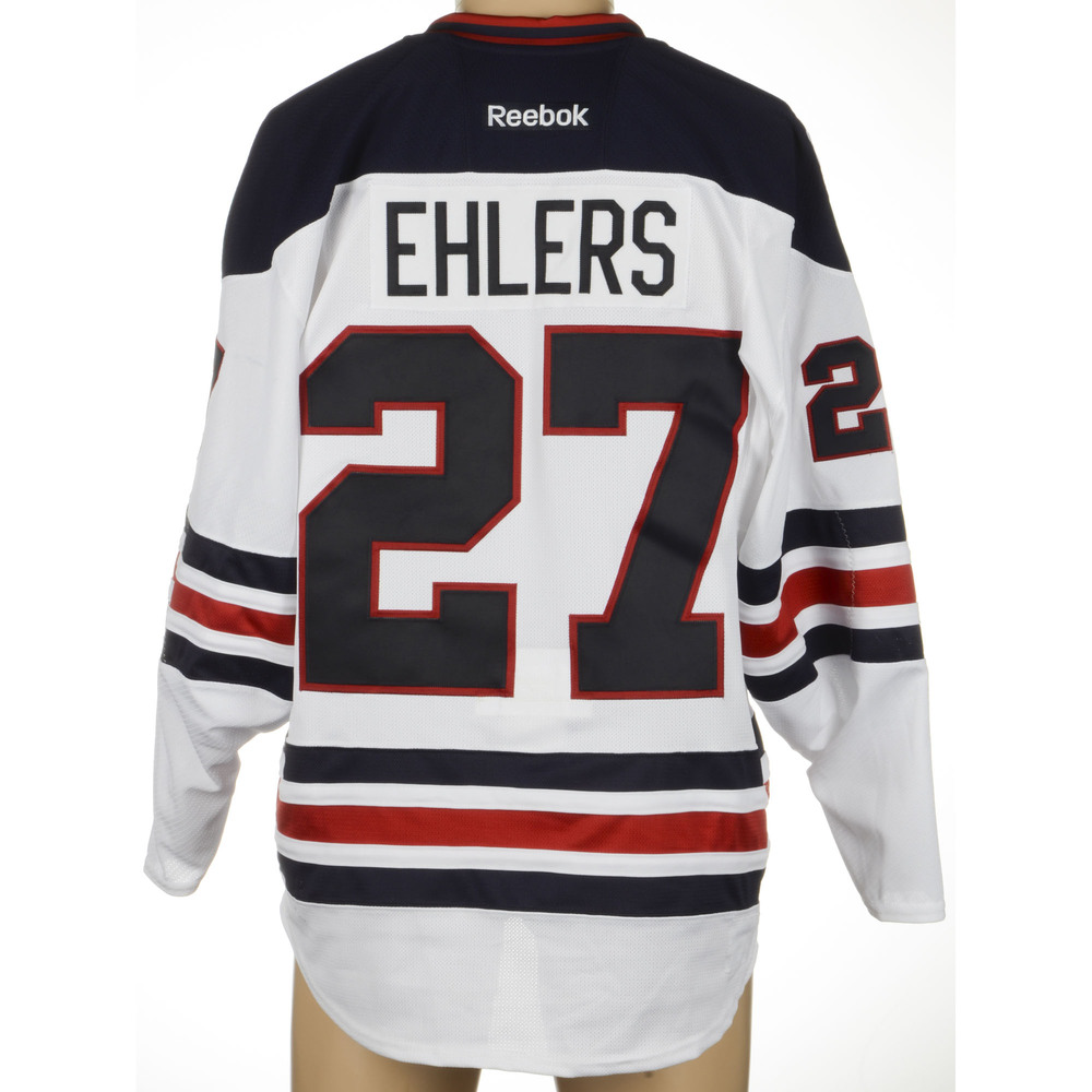 pretty nice 63007 61602 Nikolaj Ehlers Winnipeg Jets Game-Used 2016 Heritage Classic ...