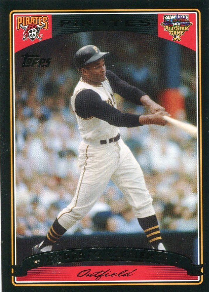 2006 Topps All-Star FanFest #2 Roberto Clemente