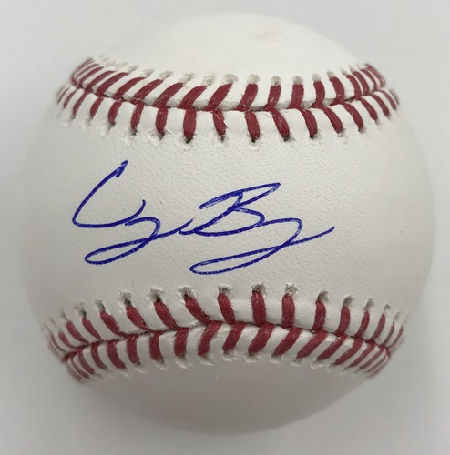 Photo of Cody Bellinger Autographed Baseball