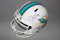 DOLPHINS - JASON JONES SIGNED DOLPHINS REPLICA REVOLUTION HELMET