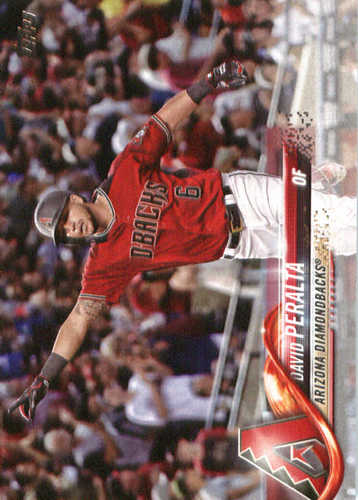 Photo of 2018 Topps #319 David Peralta