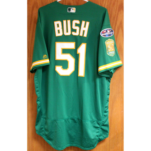 Team Issued Darren Bush 2018 Jersey w/ Postseason Patch