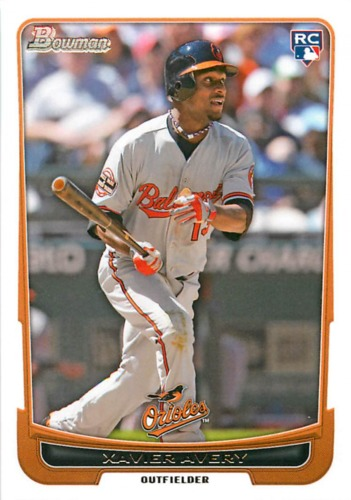 Photo of 2012 Bowman Draft #34 Xavier Avery RC