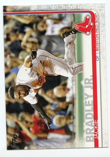 Photo of 2019 Topps #179 Jackie Bradley Jr.