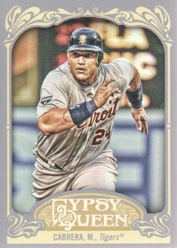 Photo of 2012 Topps Gypsy Queen #50A Miguel Cabrera