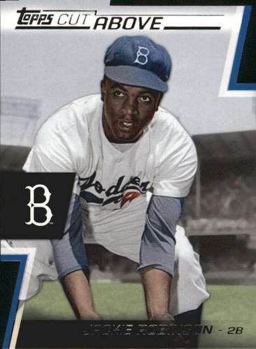 Photo of 2012 Topps A Cut Above #ACA22 Jackie Robinson