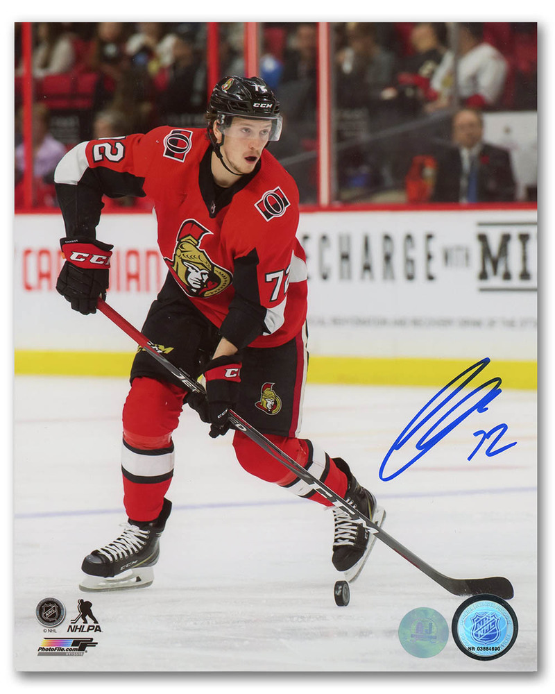Thomas Chabot Ottawa Senators Autographed NHL Hockey 8x10 Photo