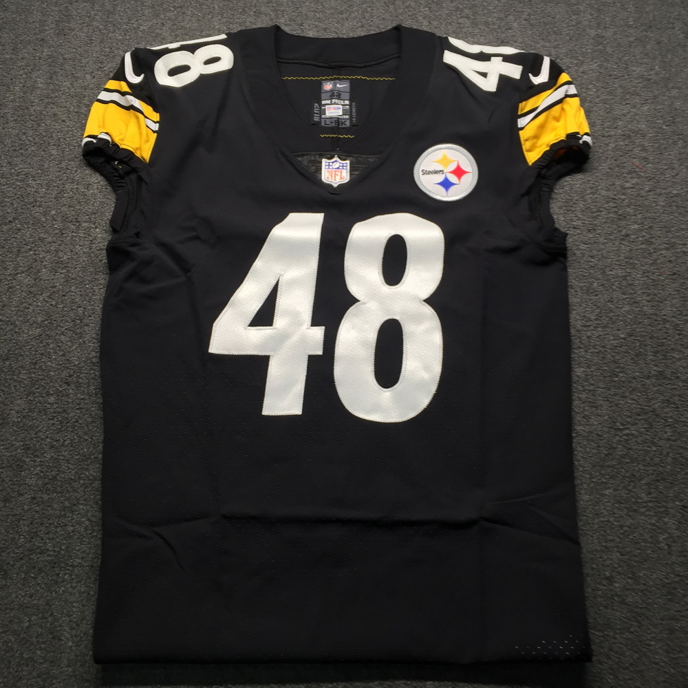 STS - Steelers Bud Dupree Game issued Jersey 2018 Season Size 42