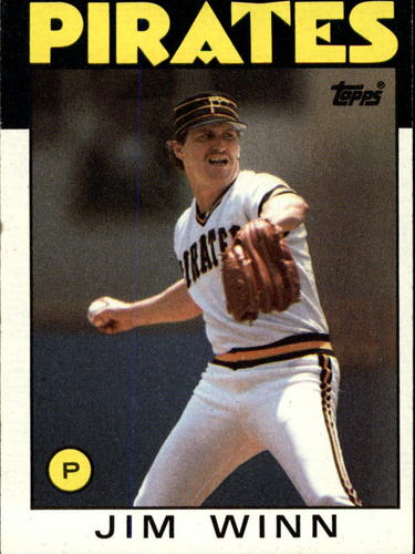 Photo of 1986 Topps #489 Jim Winn
