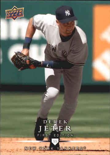 Photo of 2008 Upper Deck First Edition #248 Derek Jeter