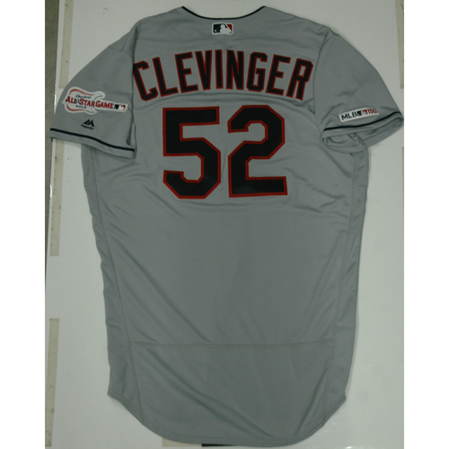 Photo of Mike Clevinger 2019 Team Issued Road Jersey