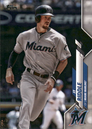 Photo of 2020 Topps #275 JT Riddle