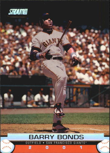 Photo of 2001 Stadium Club #25 Barry Bonds