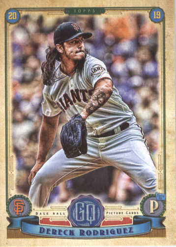 Photo of 2019 Topps Gypsy Queen #61 Dereck Rodriguez