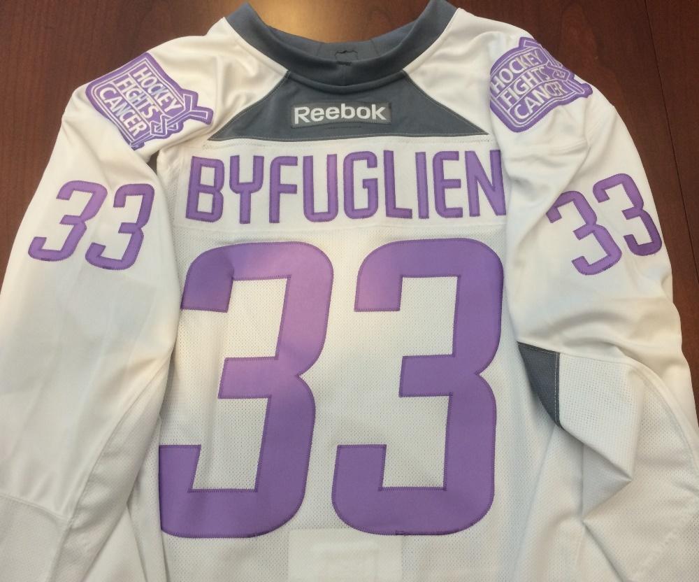 new concept 37da7 6e7e1 Dustin Byfuglien - Warm-Up Issued - Commemorative Hockey ...