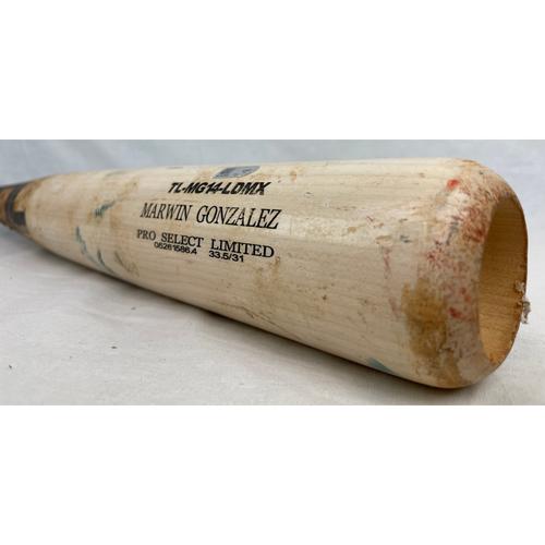 Photo of Luis Valbuena Game-Used Broken Bat - 6/16/2015 vs. COL