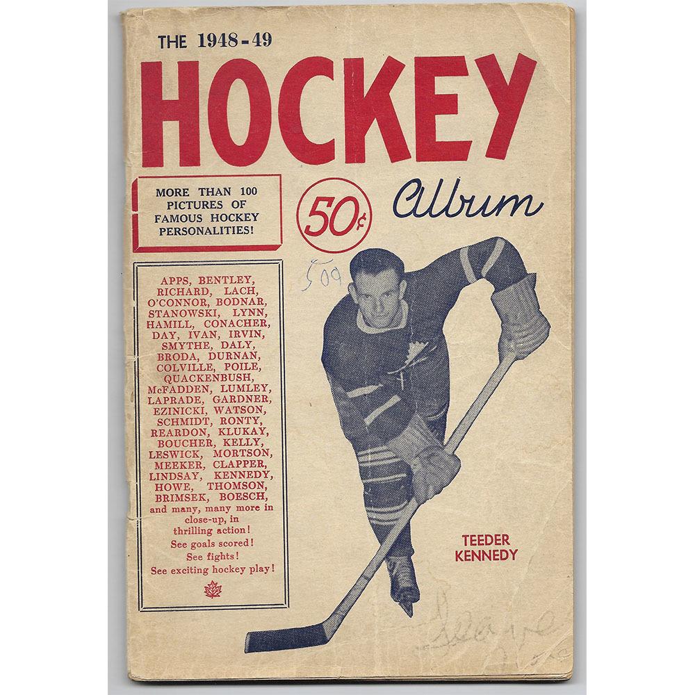 1948-49 Hockey Album Book