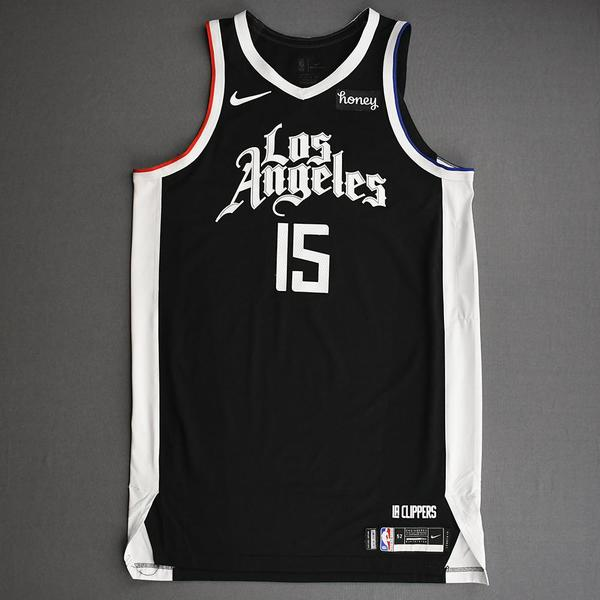 Image of DeMarcus Cousins - Los Angeles Clippers - Game-Worn City Edition Jersey - Dressed, Did Not Play (DNP) - 2021 NBA Playoffs