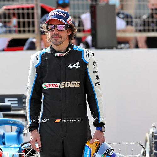 Photo of Fernando Alonso 2021 Race Used Race Suit - British GP