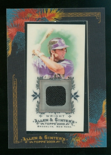 Photo of 2009 Topps Allen and Ginter Relics #DAW2 David Wright Jsy