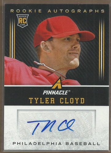 Photo of 2013 Pinnacle Rookie Autographs #TC Tyler Cloyd