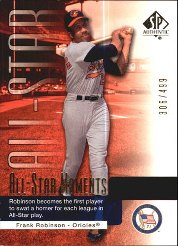 Photo of 2004 SP Authentic 499/249 #149 Frank Robinson ASM