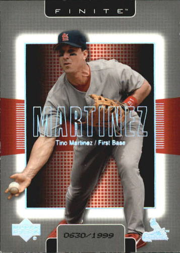 Photo of 2003 Upper Deck Finite #92 Tino Martinez