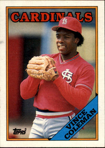 Photo of 1988 Topps #260 Vince Coleman