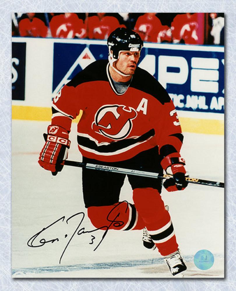 Ken Daneyko New Jersey Devils Autographed Skating 8x10 Photo
