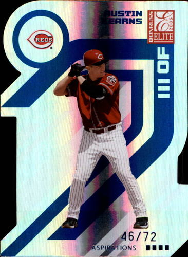 Photo of 2005 Donruss Elite Aspirations #48 Austin Kearns/72