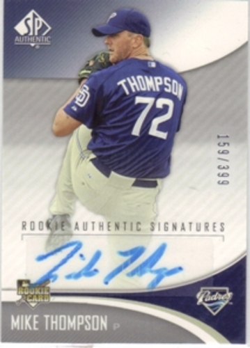 Photo of 2006 SP Authentic #238 Mike Thompson AU/399 RC