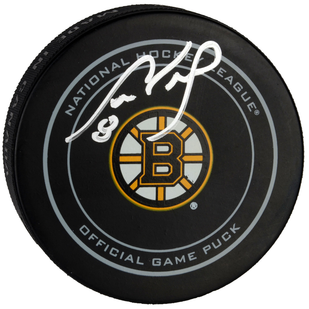 Cam Neely Boston Bruins Autographed Official Game Puck