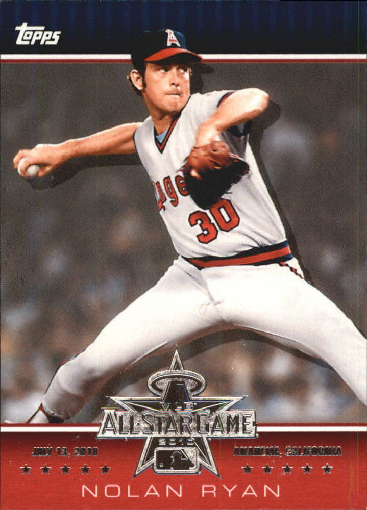 2010 Topps All-Star FanFest #WR4 Nolan Ryan