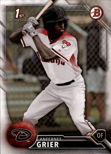 Photo of 2016 Bowman Draft #BD11 Anfernee Grier