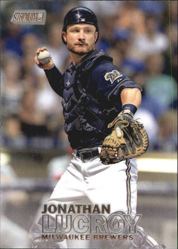 Photo of 2016 Stadium Club #212 Jonathan Lucroy