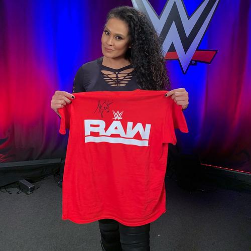 Photo of Tamina WORN & SIGNED T-Shirt (Survivor Series - 11/18/18)
