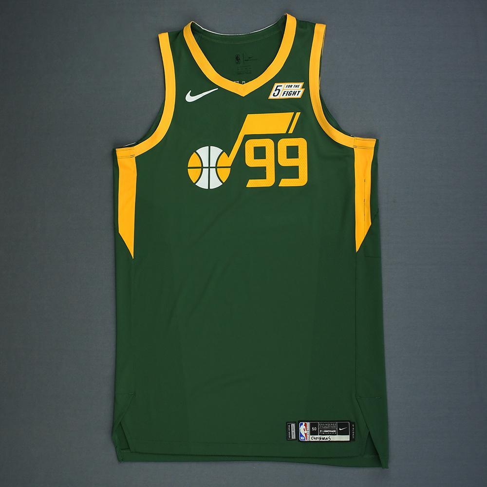 9f441ddbefd8 Jae Crowder - Utah Jazz - Christmas Day  18 - Game-Worn Earned Statement