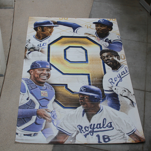 Photo of Extra Large Team-Issued Banner: 9