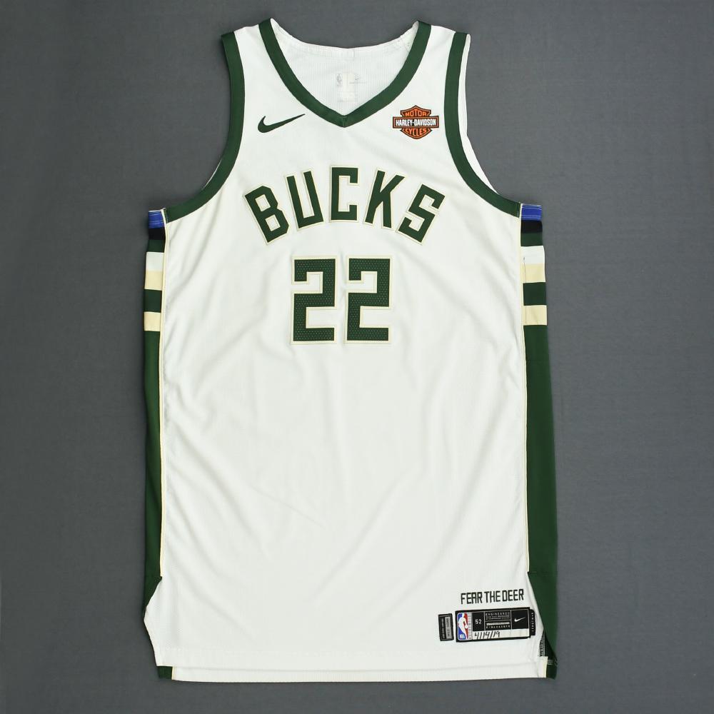 promo code 96faf e1dac Khris Middleton - Milwaukee Bucks - Game-Worn Association ...